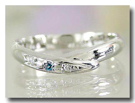 ピンキーリング ピンキーリングダイヤモンドリング ダイヤモンド ホワイトゴールドk18指輪 18金 ダイヤ 4月誕生石 ストレート 2.3 宝石 送料無料