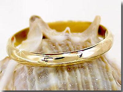 指輪 ピンキーリング イエローゴールドk10 10金 ストレート 2.3 送料無料