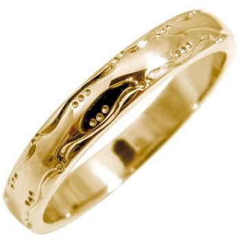 指輪 ピンキーリング 手作りリング ピンクゴールドk18 地金リング 宝石なし 18金 ストレート 贈り物 誕生日プレゼント ギフト ファッション 妻 嫁 奥さん 女性 彼女 娘 母 祖母 パートナー 送料無料