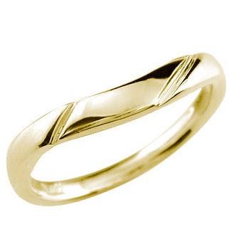 イエローゴールドk18 リング 指輪 ピンキーリング 地金リング 宝石なし 18金 ストレート 贈り物 誕生日プレゼント ギフト ファッション 妻 嫁 奥さん 女性 彼女 娘 母 祖母 パートナー 送料無料