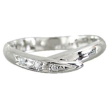 ピンキーリング ピンキーリングダイヤモンド プラチナリング ダイヤモンド 指輪 ダイヤ 4月誕生石 ストレート 2.3 宝石 送料無料