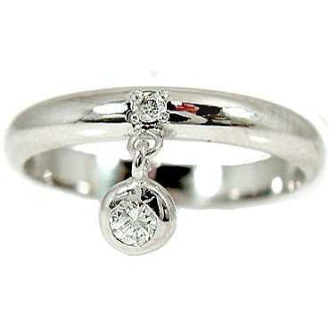 【送料無料】ピンキーリング ホワイトゴールドk1 8ダイヤモンドリング 指輪 18金 ダイヤ 4月誕生石 ストレート 2.3 贈り物 誕生日プレゼント ギフト ファッション 妻 嫁 奥さん 女性 彼女 娘 母 祖母 パートナー