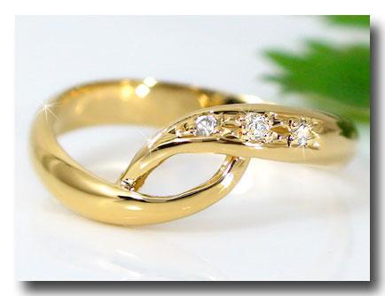 【送料無料】ピンキーリングダイヤモンドリングk18指輪 ダイヤ 4月誕生石 ストレート 2.3 贈り物 誕生日プレゼント ギフト ファッション 18k 妻 嫁 奥さん 女性 彼女 娘 母 祖母 パートナー
