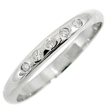 【送料無料】ピンキーリングダイヤモンドリングホワイトゴールドk18指輪ダイヤモンド 18金 ダイヤ 4月誕生石 ストレート 2.3 贈り物 誕生日プレゼント ギフト ファッション 18k 妻 嫁 奥さん 女性 彼女 娘 母 祖母 パートナー