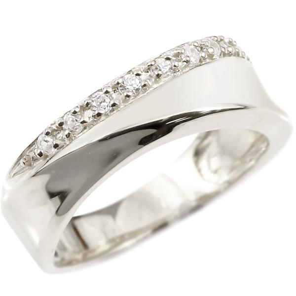 婚約指輪 リング ホワイトゴールドk10 キュービックジルコニア エンゲージリング 指輪 ピンキーリング 10金 レディース 母の日