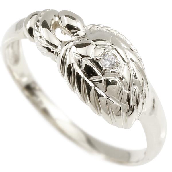 婚約指輪 リング ホワイトゴールドk10 ダイヤモンド カメ エンゲージリング 指輪 ピンキーリング 10金 亀 かめ レディース 妻 嫁 奥さん 女性 彼女 娘 母 祖母 パートナー