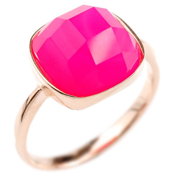 婚約指輪 リング ピンクゴールドk10 ピンクカルセドニー エンゲージリング 指輪 ピンキーリング 10金 レディース 妻 嫁 奥さん 女性 彼女 娘 母 祖母 パートナー
