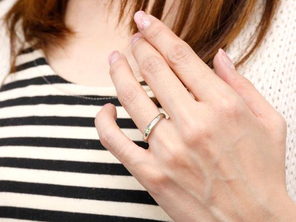 ペリドット リング ホワイトゴールドk10 指輪 ピンキーリング 8月誕生石 ストレート 10金 宝石 妻 嫁 奥さん 女性 彼女 娘 母 祖母 パートナーb7fgy6