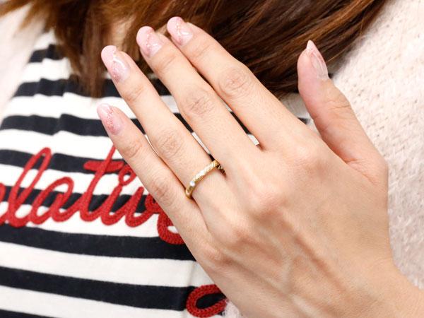 ピンキーリング ダイヤモンド ブルートパーズ イエローゴールドk10 10金 k10 アンティーク ストレート 11月誕生石 指輪 ダイヤリング 妻 嫁 奥さん 女性 彼女 娘 母 祖母 パートナー 送料無料uTZOXiPk