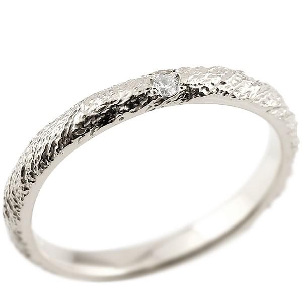 ピンキーリング ダイヤモンドホワイトゴールドk18 18金 k18 アンティーク ストレート 指輪 ダイヤリング 妻 嫁 奥さん 女性 彼女 娘 母 祖母 パートナー 送料無料