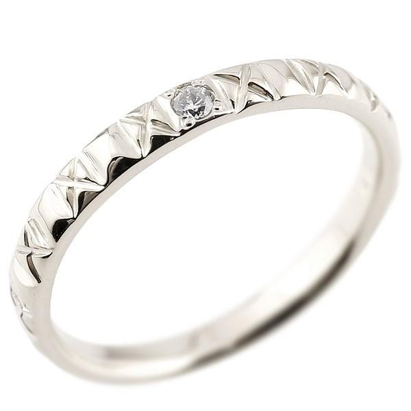 プラチナリング ピンキーリング ダイヤモンドpt900 アンティーク ストレート 指輪 ダイヤリング 妻 嫁 奥さん 女性 彼女 娘 母 祖母 パートナー 送料無料