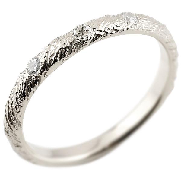 ピンキーリング ダイヤモンド プラチナリング pt900 アンティーク ストレート 4月誕生石 指輪 ダイヤリング 妻 嫁 奥さん 女性 彼女 娘 母 祖母 パートナー 送料無料
