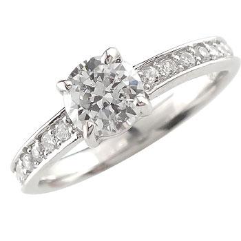 ピンキーリング ダイヤモンド エタニティ プラチナリング 指輪 リング エタニティリング一粒 大粒 リング ダイヤ ストレート