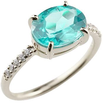 ブルートパーズ シルバーリング キュービックジルコニア 指輪 ピンキーリング 11月誕生石 ストレート 宝石