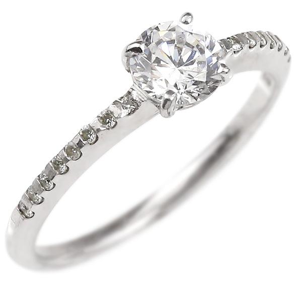 婚約指輪 プラチナリング ダイヤモンド エンゲージリング ダイヤ 一粒 大粒 指輪 ピンキーリング pt900 宝石 レディース 妻 嫁 奥さん 女性 彼女 娘 母 祖母 パートナー