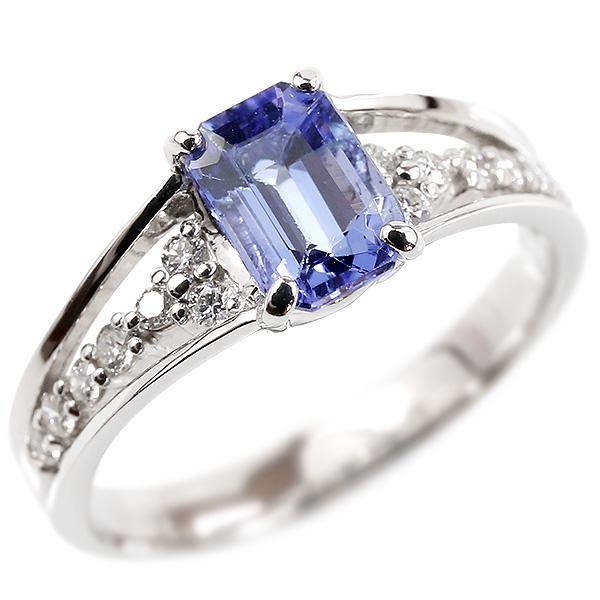 婚約指輪 プラチナリング タンザナイト エンゲージリング ダイヤモンド 指輪 ピンキーリング pt900 宝石 レディース 妻 嫁 奥さん 女性 彼女 娘 母 祖母 パートナー