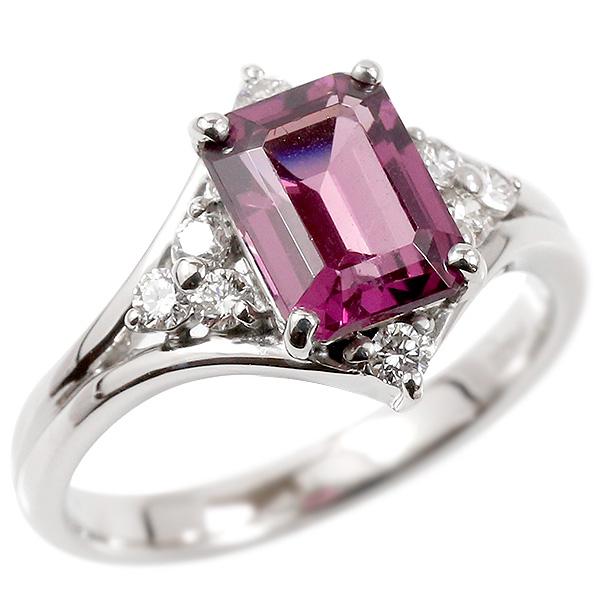婚約指輪 プラチナリング グレープガーネット エンゲージリング ダイヤモンド 指輪 ピンキーリング pt900 宝石 レディース 妻 嫁 奥さん 女性 彼女 娘 母 祖母 パートナー