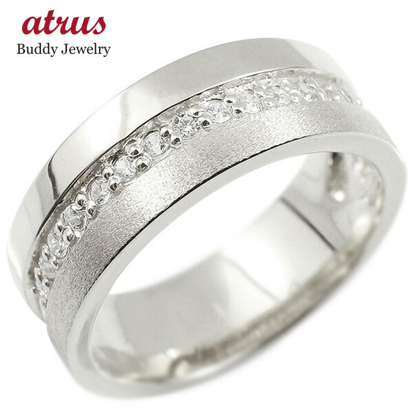 婚約指輪 リング シルバー925 ダイヤモンド エンゲージリング ダイヤ 指輪 幅広 つや消し ピンキーリング sv925 宝石 レディース 妻 嫁 奥さん 女性 彼女 娘 母 祖母 パートナー