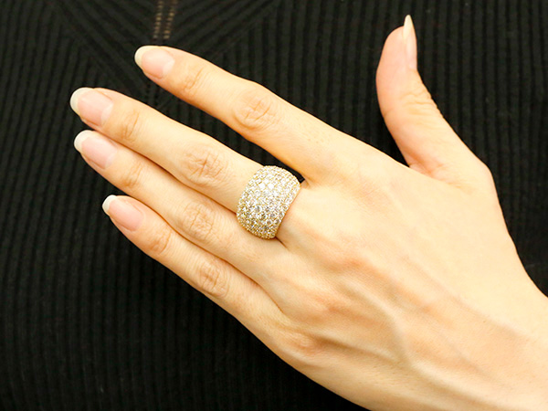 0.306 cttw Round-Cut-Diamond 18K Yellow Gold IJ| SI identification-bracelets Size 7.25 inches