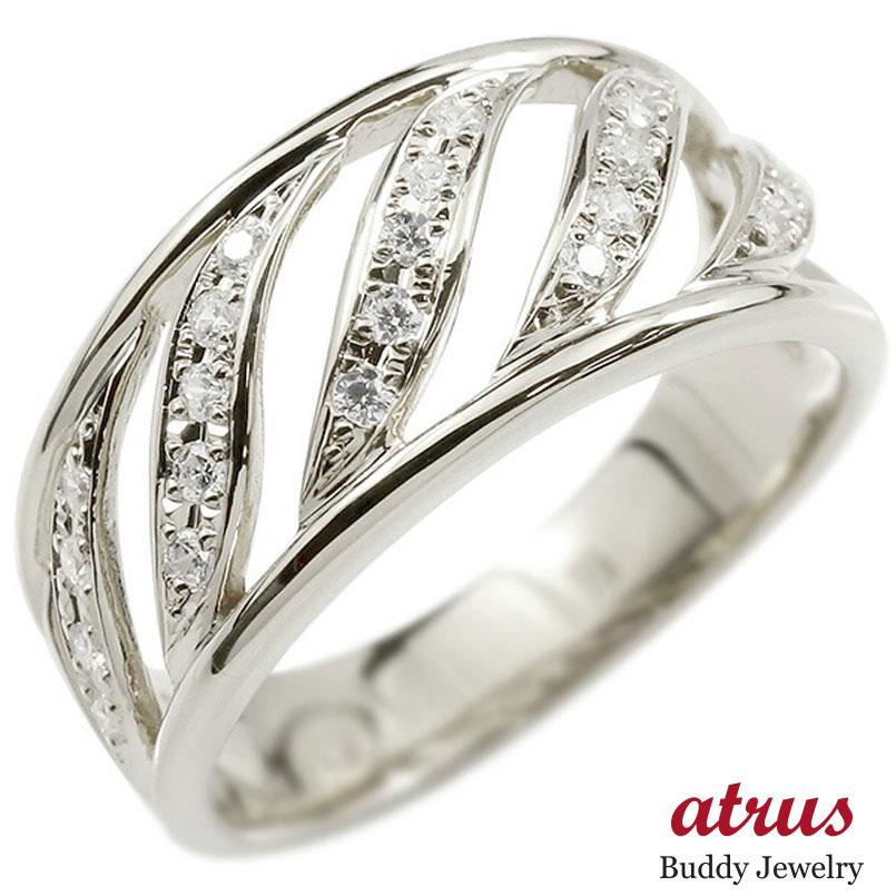 婚約指輪 プラチナリング ダイヤモンド エンゲージリング ダイヤ 指輪 幅広 ピンキーリング pt900 宝石 レディース 母の日