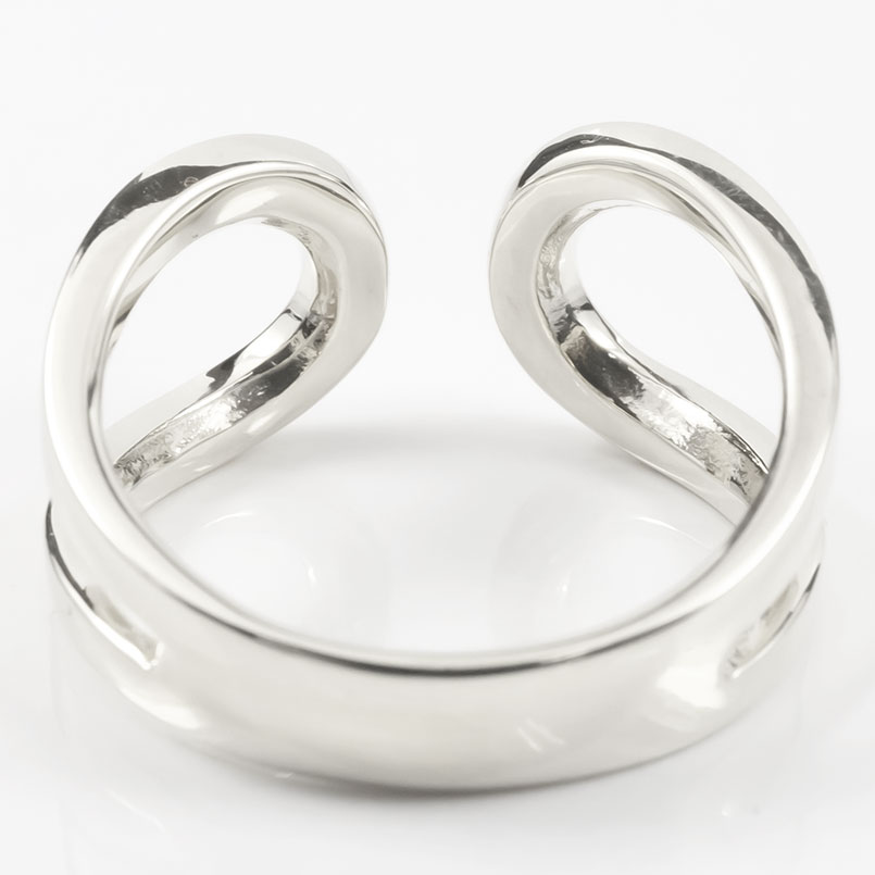 18金 リング ゴールド リング レディース 指輪 18k ホワイトゴールドk18 フリーサイズ 婚約指輪 安い シンプル ピンキーリング 地金 女性 送料無料uOkXPTZi