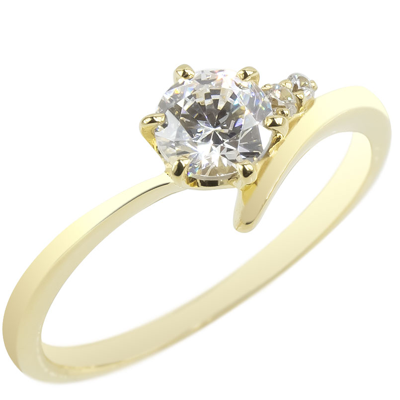 専門店では 婚約指輪 18金 リング ダイヤモンド 一粒 レディース ゴールド 0.57ct 指輪 18k イエローゴールドk18 エンゲージリング 大粒 シンプル 送料無料, 赤ちゃんランドあぶらや ca0a2254