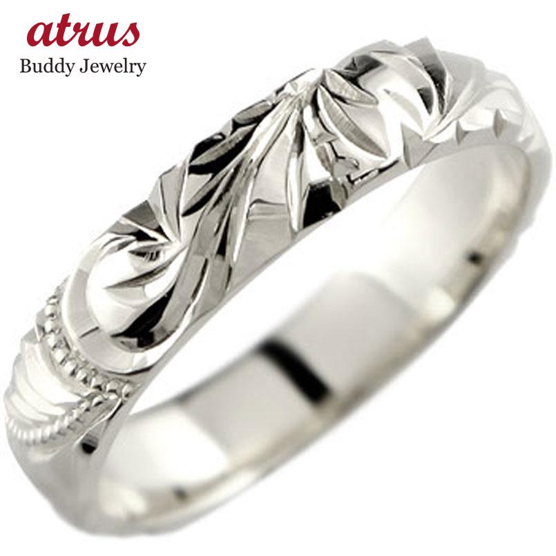 婚約指輪 エンゲージリング ハワイアンジュエリー ハワイアンリング 指輪 ハードプラチナ950リング pt950 ストレート