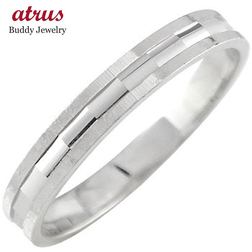 プラチナリング 指輪 カットリング ダイヤモンドカット ストレート 半額 送料無料 ピンキーリング ダイヤ トラスト