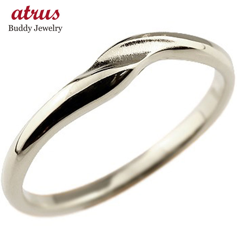 ピンキーリング プラチナリング 指輪 地金リング つや消し シンプル 宝石なし pt900 レディース ストレート 送料無料