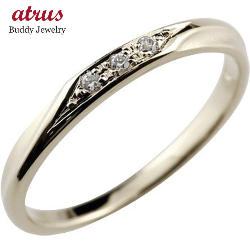 ダイヤモンド ハードプラチナリング 指輪 ピンキーリング ダイヤ つや消し シンプル pt950 レディース 4月誕生石 ストレート 送料無料