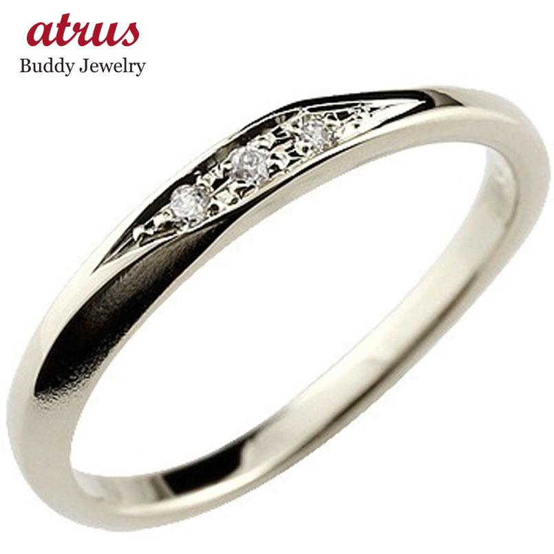 婚約指輪 エンゲージリング ハードプラチナ950 ダイヤモンドリング ダイヤ 指輪 リング つや消し pt950 レディース ストレート スリーストーン 送料無料