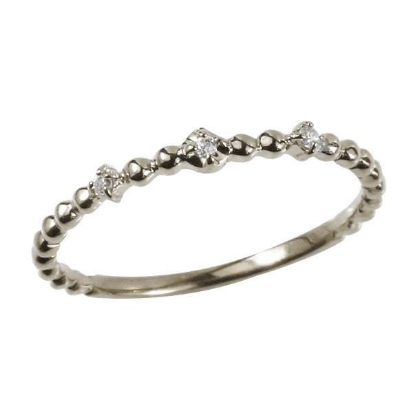 指輪 ピンキーリング 婚約指輪 ダイヤモンド プラチナ 細い 華奢宝石 レディース 送料無料