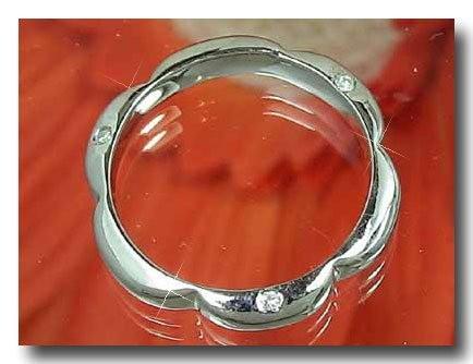ピンキーリング ダイヤモンドリング プラチナリング 指輪 ダイヤモンド ダイヤ ダイヤ 4月誕生石 ストレート 宝石 送料無料