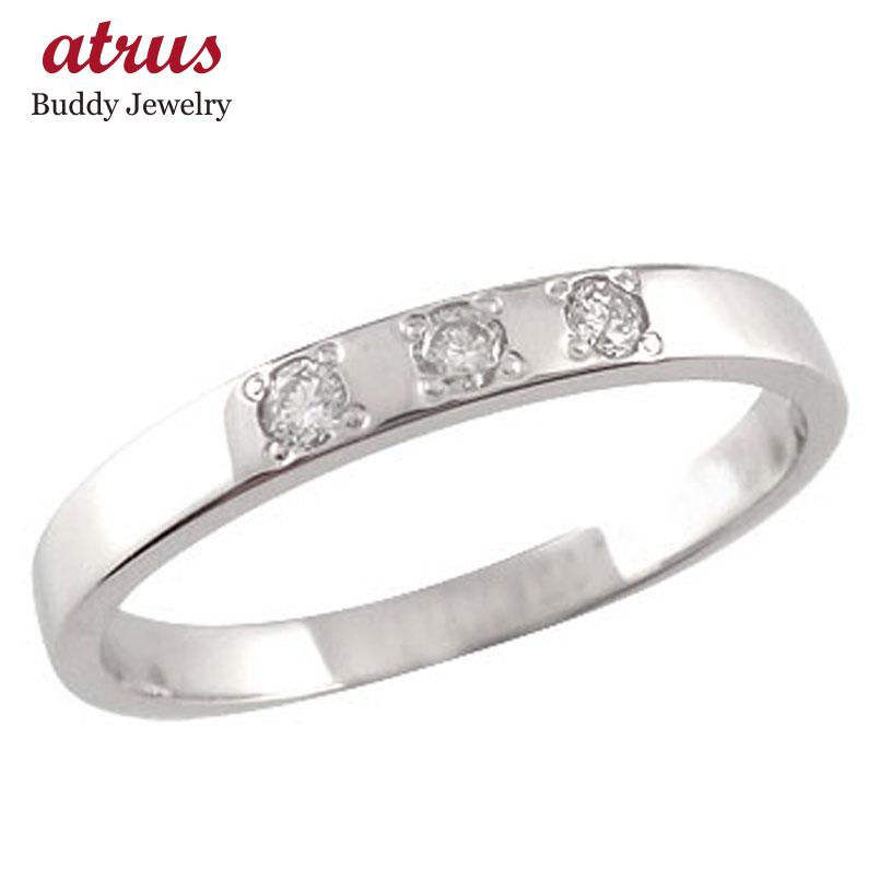 ピンキーリング ダイヤモンド リングプラチナ リング 指輪 ダイヤ ダイヤモンドリング ストレート 送料無料