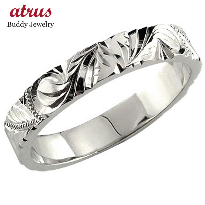婚約指輪 エンゲージリング ハワイアンジュエリー ハードプラチナ950リング ハワイアンリング 指輪 ハードプラチナ950 pt950 ストレート