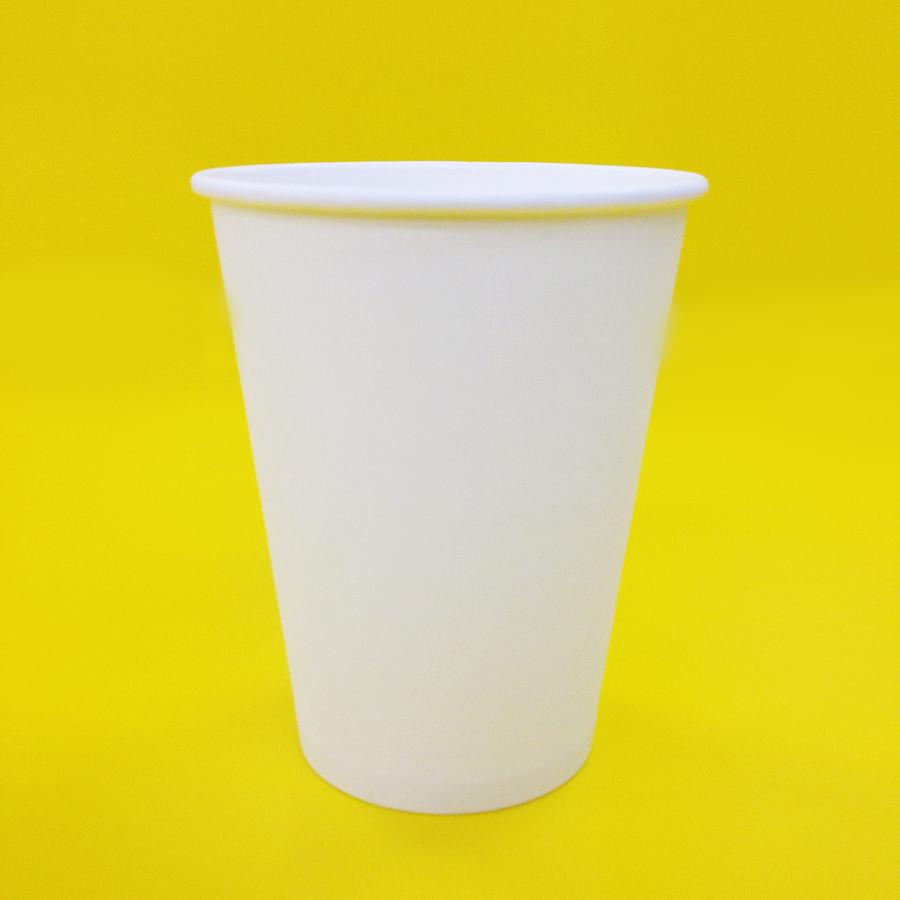 紙コップ 360ml(12オンス) 1パック:1,000個入り BMT-009 耐熱無地 紙カップ