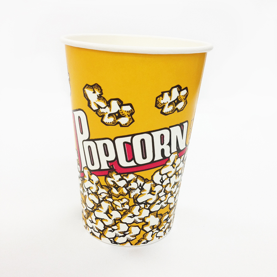 ポップコーンカップ 1380ml(46オンス) 1パック:500個入り BMT-025 紙カップ