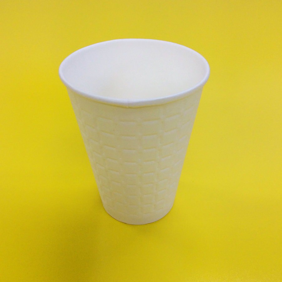 紙コップ 340ml(13オンス) 1パック:1,000個入り MDC-002 モデレカップ 耐熱無地 紙カップ