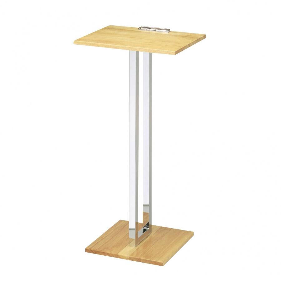 記名台 SS-039 ボード:木製 テーブル型 白木 順番待ち記名台