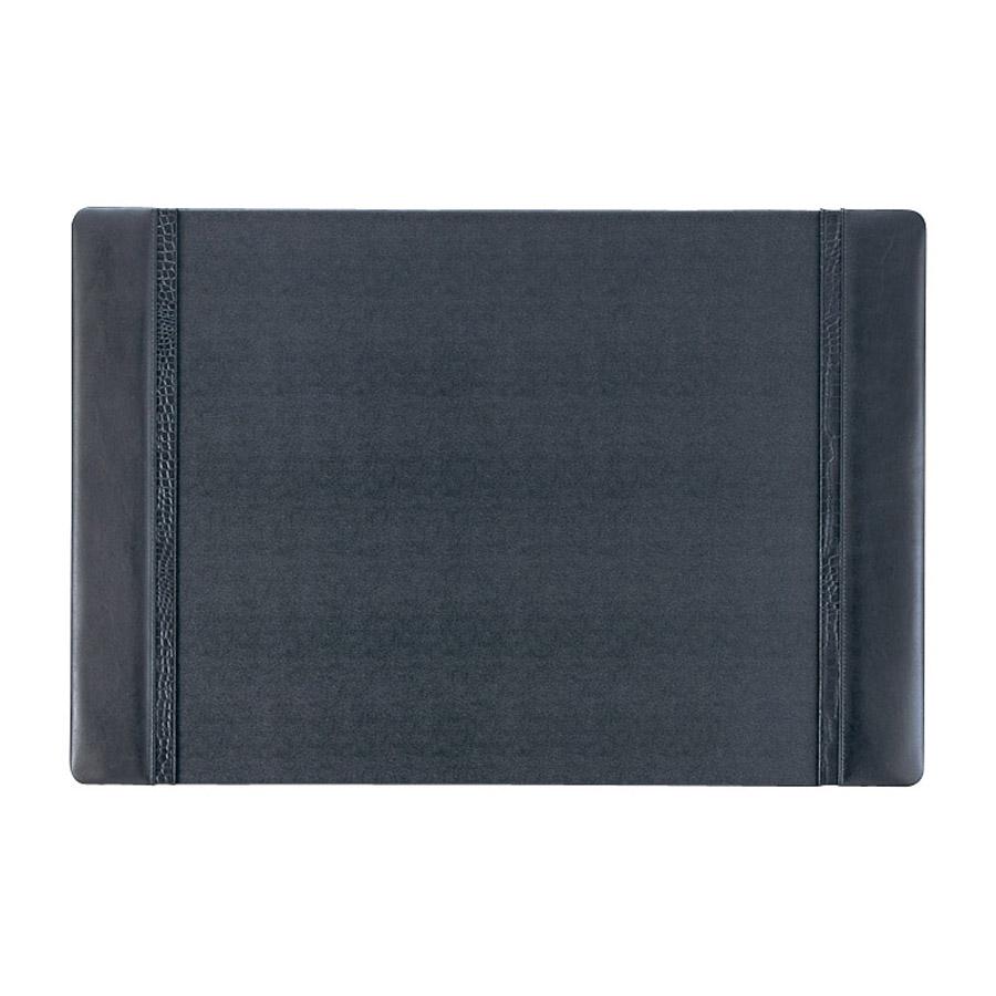 デスクマット 本革+合皮 DM-301 ブラック クロコタイプ