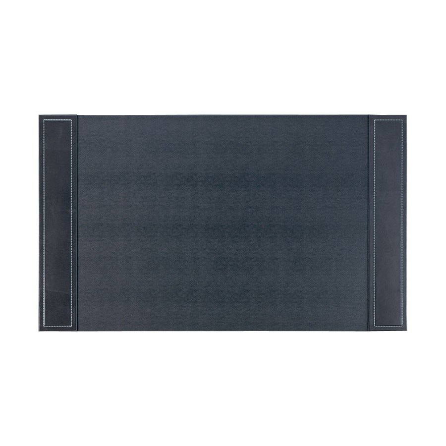 高級デスクマット 本革+合皮 DM-302 ブラック