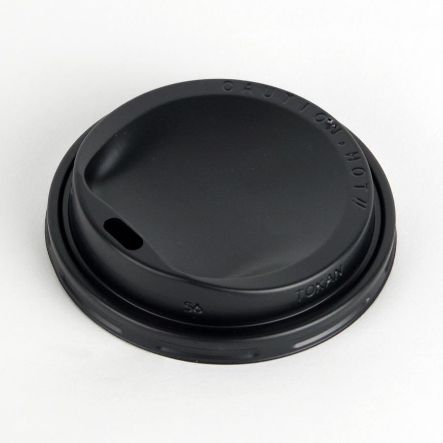 紙コップ用フタ 口径79.6mm 2000個 SMT-280-F PS ドリンキングリッド黒 SMT-280専用リッド