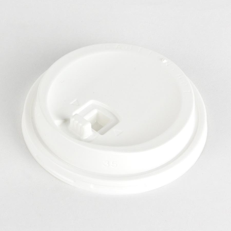 紙コップ用フタ SMT-280-LF リフトアップリッド・白 2000個パック