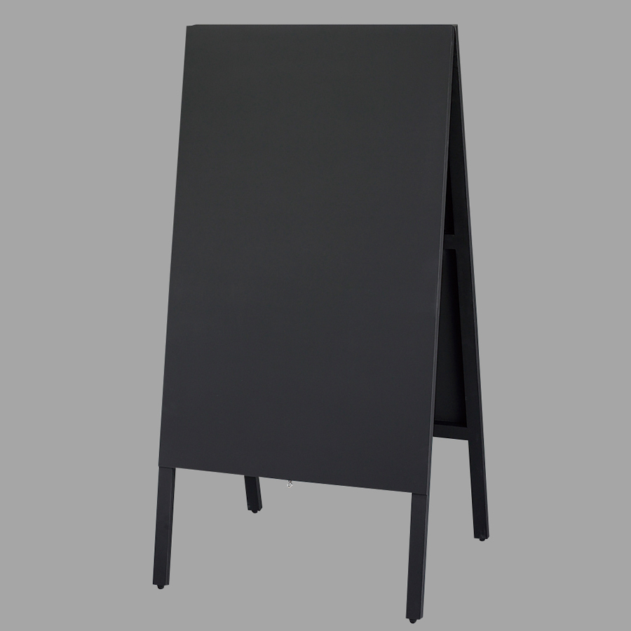 A型看板(特大) TBD120-1 チョーク用 ビッグタイプ・黒板・木製・両面 ※代引き不可商品