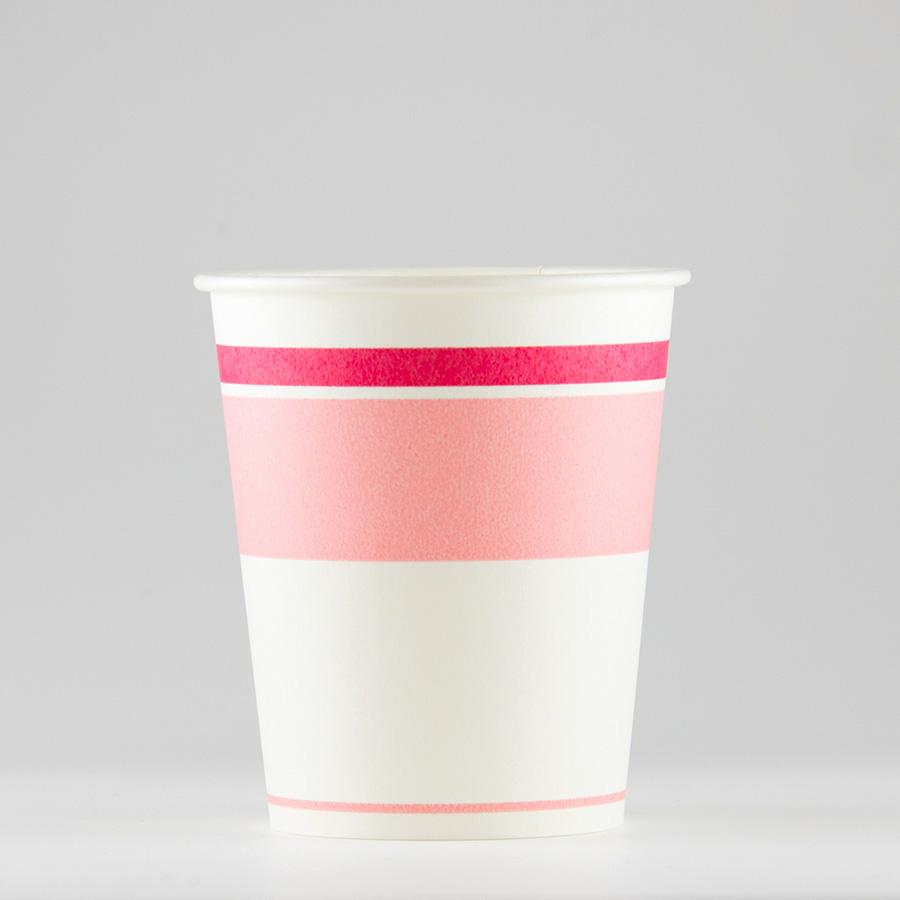 紙コップ 156ml(5.5オンス) 1パック:3000個入り SM-150ロマンピンク 【テイクアウト紙カップ・業務用・使い捨て食品容器】