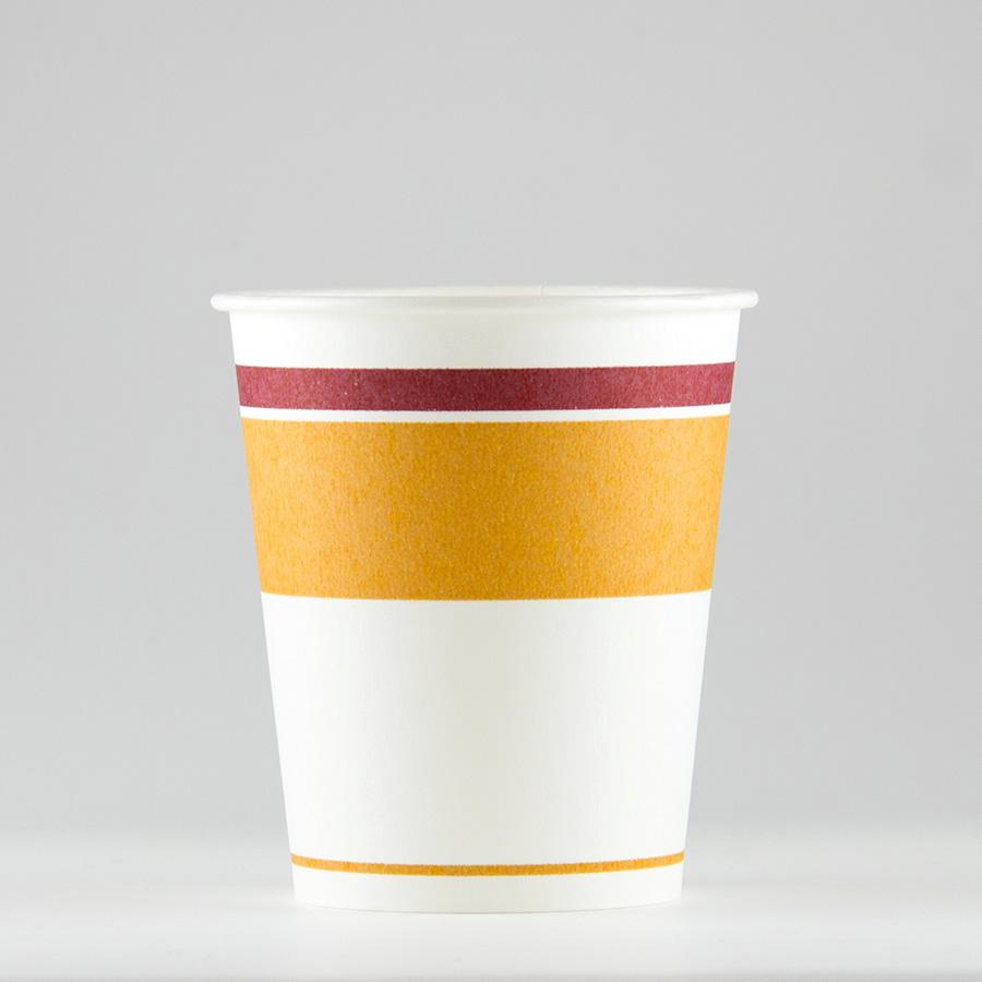 紙コップ 156ml(5.5オンス) 1パック:3000個入り SM-150ロマンセピア 【テイクアウト紙カップ・業務用・使い捨て食品容器】