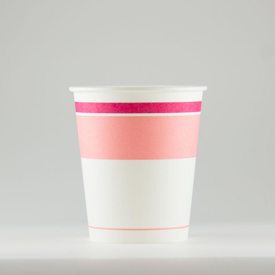 紙コップ 211ml(7オンス) 1パック:2000個入り SM-205ロマンピンク 【テイクアウト紙カップ・業務用・使い捨て食品容器】