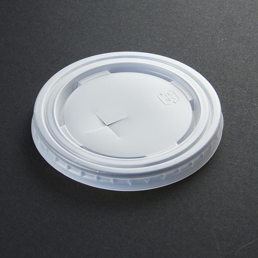 紙コップ用フタ 口径79.0mm 1パック:2000個入り SCM-320-F PS ムジ×穴【お祭りイベントテイクアウト・業務用・使い捨て食品容器】