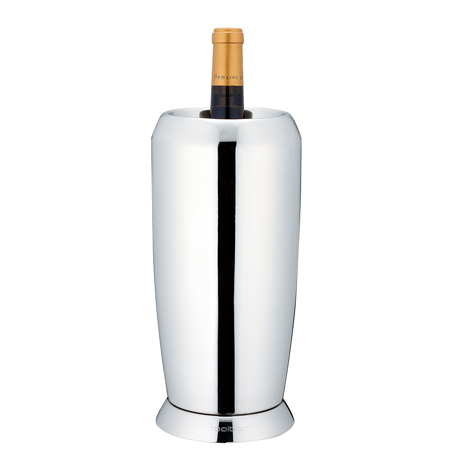 YUKIWA ユキワ ボトル用ワインクーラー WINE COOLER 03275220 ステンレス製 ホテル・バー・レストランにおすすめ
