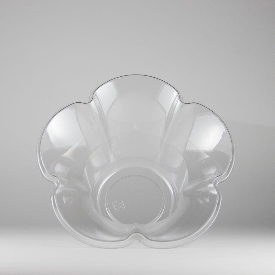 かき氷カップ フラワー型 サンデー用 800個 ミニフルールカップ 【テイクアウト・イベント・業務用・お祭り・使い捨て食品容器】